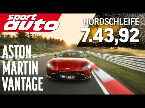 The New Aston Martin Vantage Is As Quick As the Civic Type R Around the Nürburgring