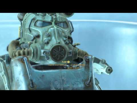 """Fallout 4 - End Of The Line: Father """"It Was Tough"""" Dialogue Tree (Killed Desdemona) Sequence PS4"""