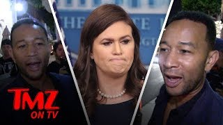 John Legend DESTROYS Sarah Sanders! | TMZ TV