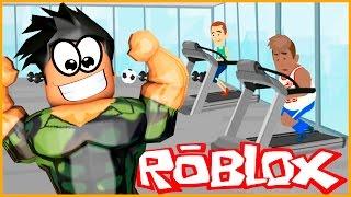 MI PROPIO GINÁSIO! Roblox Gym Tycoon