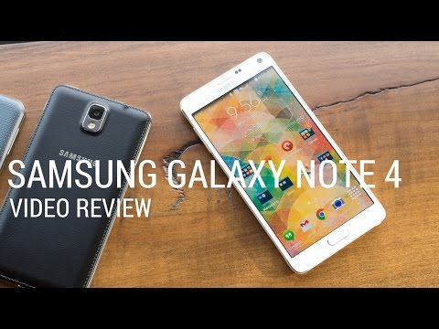 Watch our Samsung Galaxy Note 4 video review!
