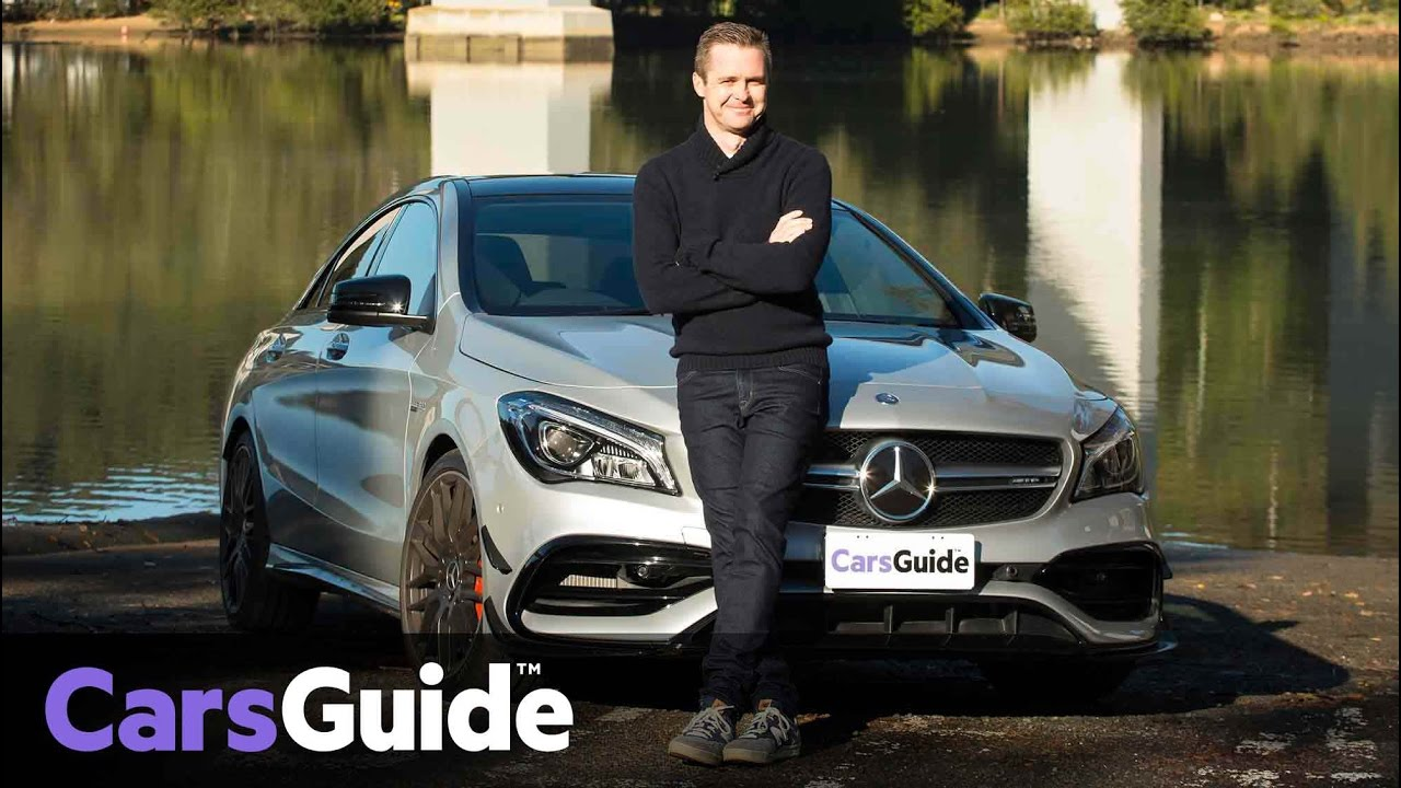 Mercedes-AMG CLA 45 2016 review | road test video