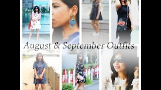 August - September Outfits around Tokyo (Zara, Asos, Forever 21, H&M)