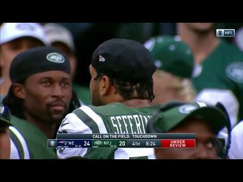 Angry Jets Fan Reacting to Bad Call by Referees | Patriots @ Jets 10/15/17 Game
