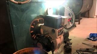 no heat call oil burner will not run,tripping reset