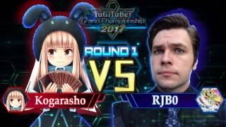 Yu-Gi-Oh! YugiTuber Grand Championship 2017 R1 | Kogarasho vs. TheRJB0!