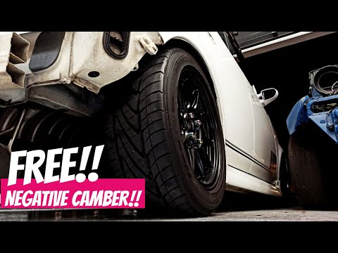 FREE NEGATIVE CAMBER!! - Washer Trick