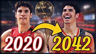 LAMELO BALL'S ENTIRE NBA CAREER SIMULATION | GOAT LEVEL CAREER? | TEAMING UP W/ WISEMAN? | NBA 2K20