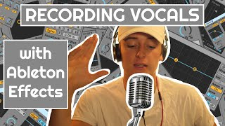 HOW TO MIX YOUR VOCALS (Ableton Built-In Audio Effects Tutorial)