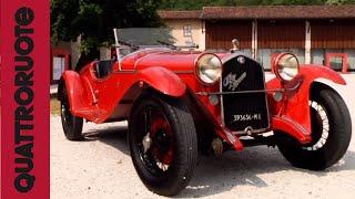 Alfa Romeo 1750 (1930) Classic Test Drive