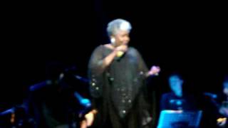 "DOROTHY MOORE performing live ""Misty Blue"" in London, january 2009"
