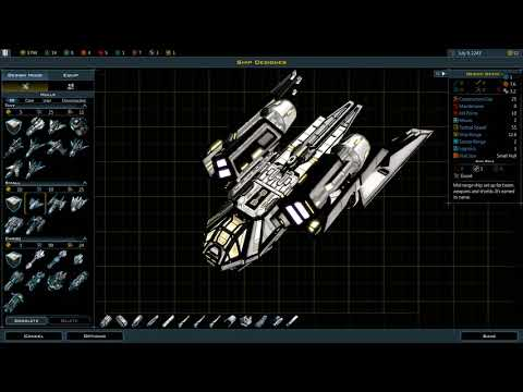 Galactic Civilizations 3 Crusade ~ HOW TO DESIGN SHIP'S