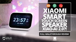 Xiaomi touch screen smart speaker - Xiao Ai Touch - Full Review [Xiaomify]
