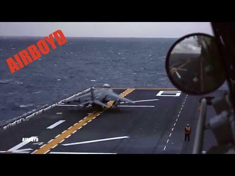 AV-8B Harriers On USS Bonhomme Richard (LHD-6)