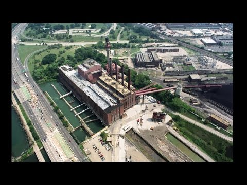 Lake Shore Power Plant demolition begins in Cleveland