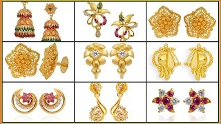 ✱ ✱ ✱Latest gold earrings designs✱ ✱  gold earring ✱ gold earring designs(, 2016-12-23T05:29:15.000Z)