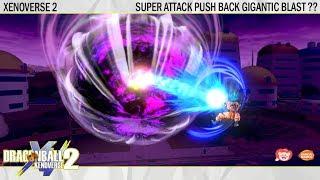 Can Super Attack push back Gigantic Ki Blast.!? | Dragonball Xenoverse 2