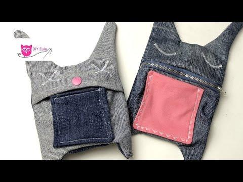 sieh was man aus einer alten jeans machen kann doovi. Black Bedroom Furniture Sets. Home Design Ideas