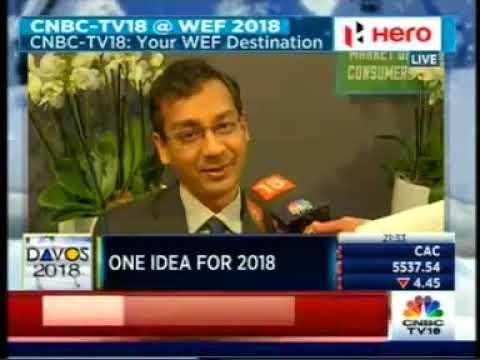 Mr Srinath Sridharan, Member GMC, Wadhawan Global Capital at Davos