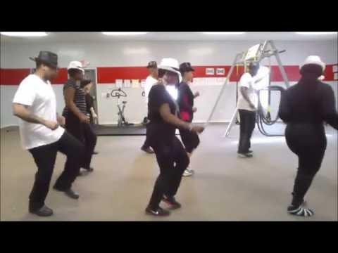 Line dance Anthony Hamilton Woo