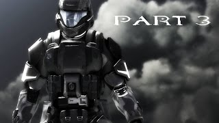 HALO 3: ODST Walkthrough Gameplay Part 3 - REMASTERED HALO MCC - DUTCH (60fps)
