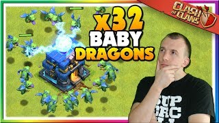 Mass Baby Dragon Attacks in Clash of Clans!