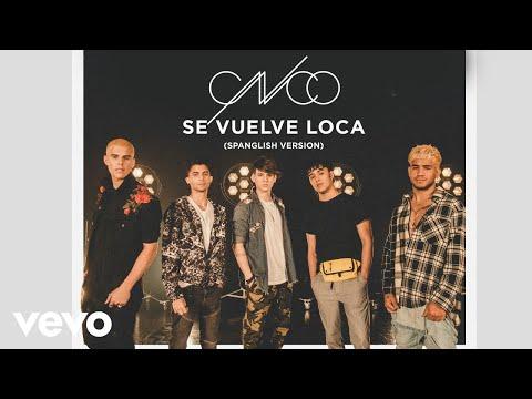 CNCO - Se Vuelve Loca (Spanglish Version) | Audios