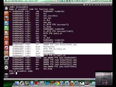 [SecurityTube.net]  Writing an Custom Insertion Encoder
