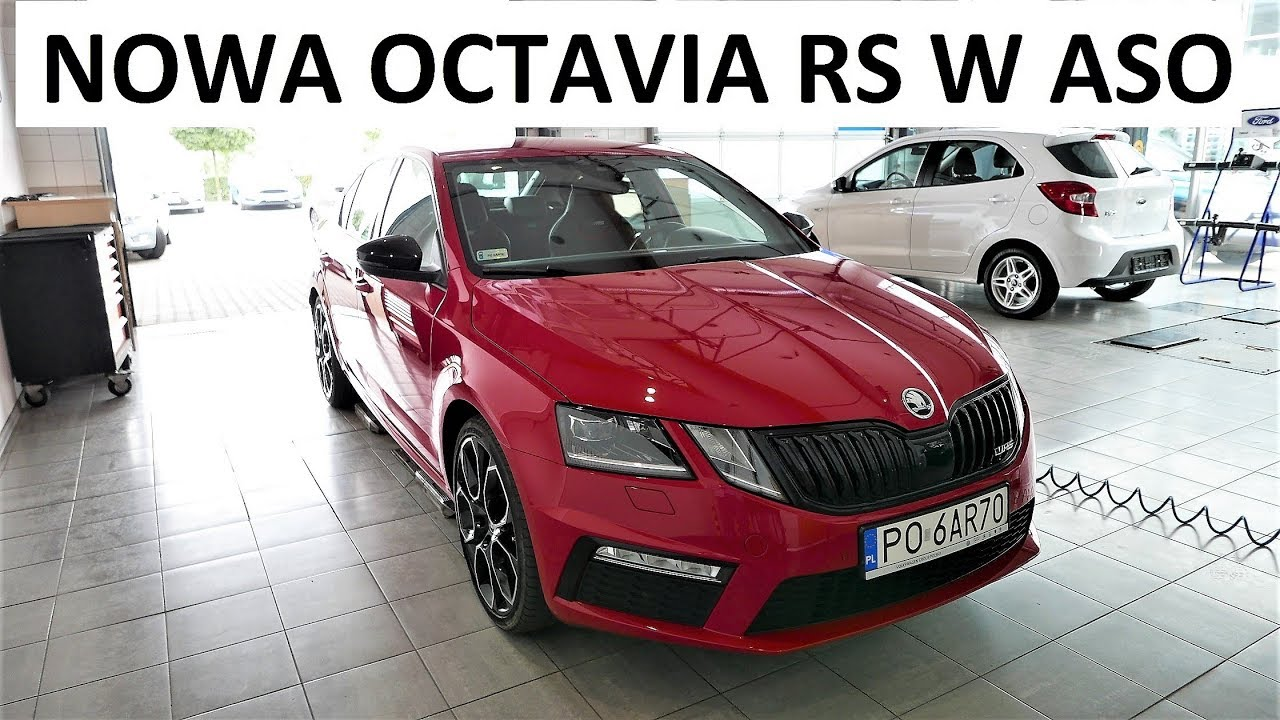 2018 new skoda octavia rs problem test drive jazda. Black Bedroom Furniture Sets. Home Design Ideas
