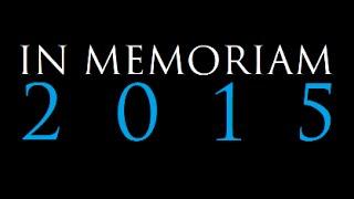 IN MEMORIAM 2015
