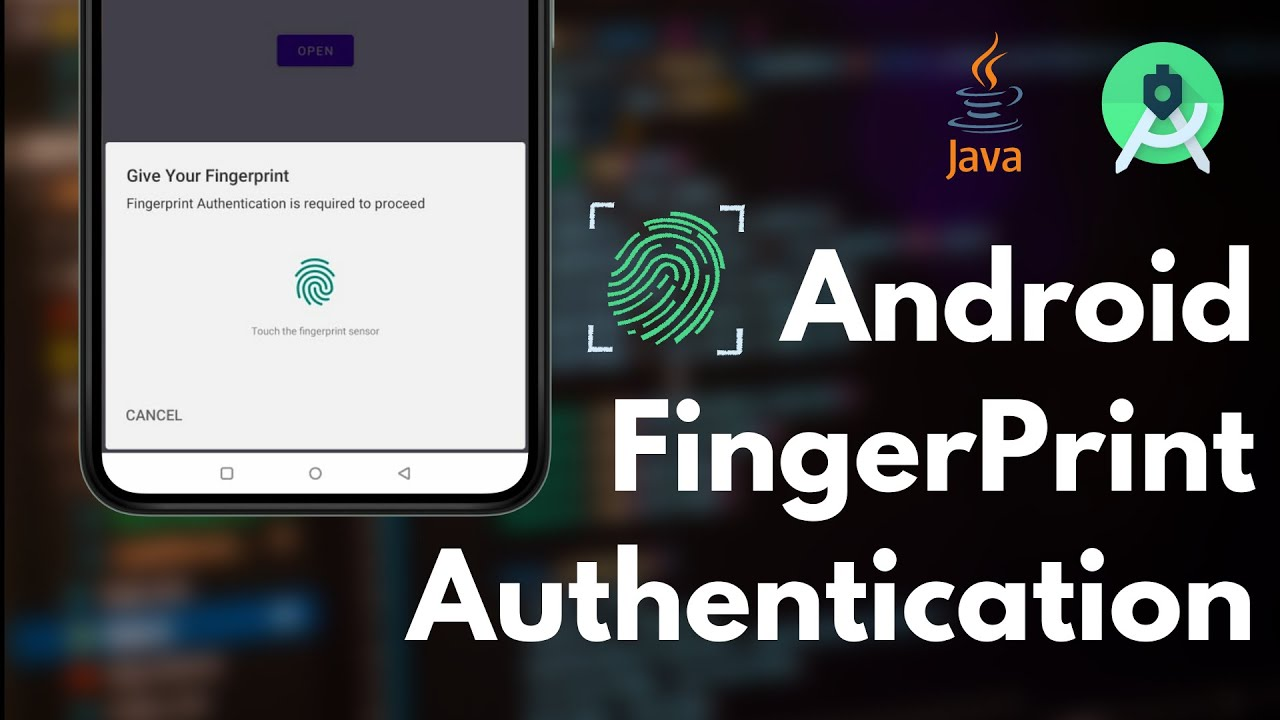 How to Add Fingerprint Authentication   Android Tutorial   API 23+