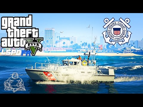 GTA 5 LSPDFR USCG Coastal Callouts Beta EXCLUSIVE FIRST LOOK LIVE! United States Coast Guard Mod
