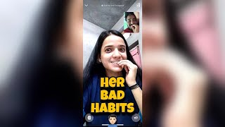 Long Distance Love | Her Bad Habits🙎🏻‍♂️| Cutest Love Status | Shubnandu | Couplegoal | Cutest Video