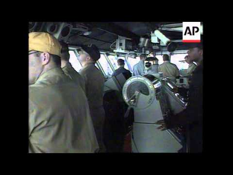 PERSIAN GULF: ON BOARD USS INDEPENDENCE