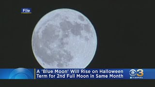 Blue Moon To Rise On Halloween