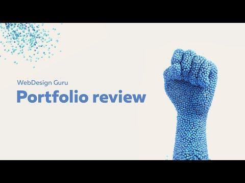 WebDesign Guru - portfolio review