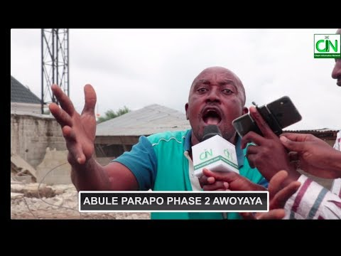 TEARS : LANDLORDS CRY AFTER MASS DEMOLITION OF HOUSES IN AWOYAYA, LAGOS