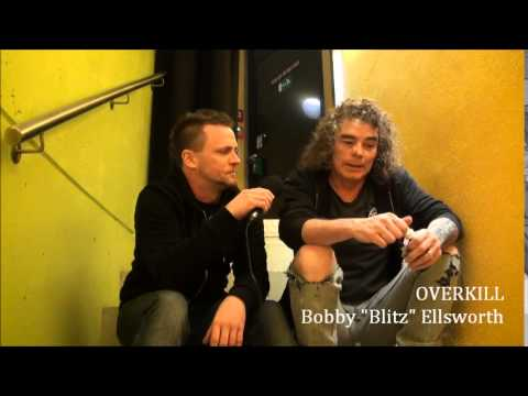 "OVERKILL Interview with Bobby ""Blitz"" Ellsworth 2015"