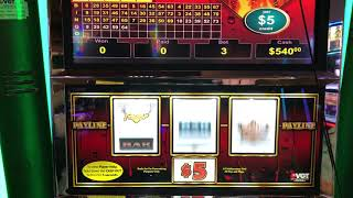 VGT Slots Diamond Fever $15 Max Ten Times Money Choctaw Gambling Casino, Durant, OK