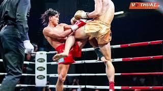 Nguyễn Trần Duy Nhất hạ knock-out võ sĩ Trung Quốc - Guang Wan Huang