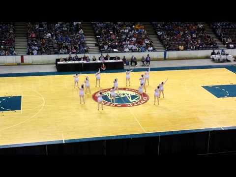 BHS DANCE TEAM - STATE 2-20-16