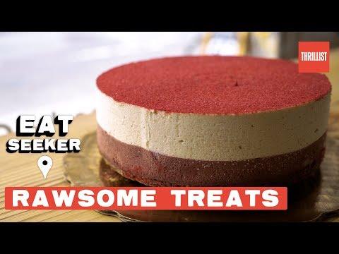NYC's Most Beautiful Desserts Are 100% Vegan || Eat Seeker: Rawsome Treats