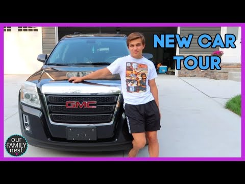 MY NEW CAR TOUR!