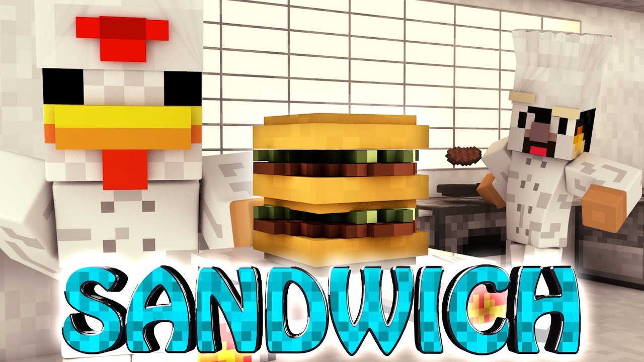Minecraft Kitchen Mod 1.8 Minecraft Sandwich Mod Showcase Kitchen Mod Chef Decorations
