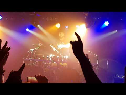 Alex Holzwarth performs drum solo on Rhapsody 20th Anniversary Farewell Tour Proxima, Warsaw