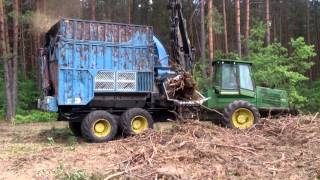 Bruks 805 ct Rębak (mobile chipper)