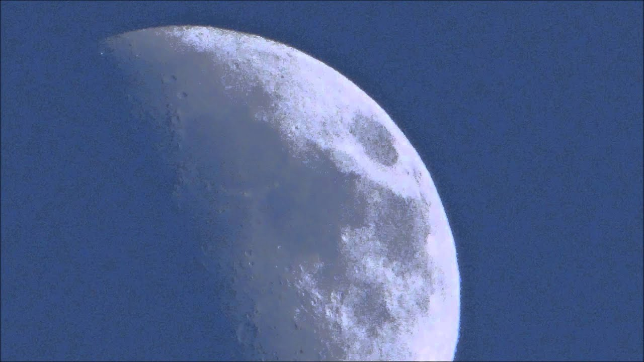 La Luna en Cuarto Creciente - YouTube