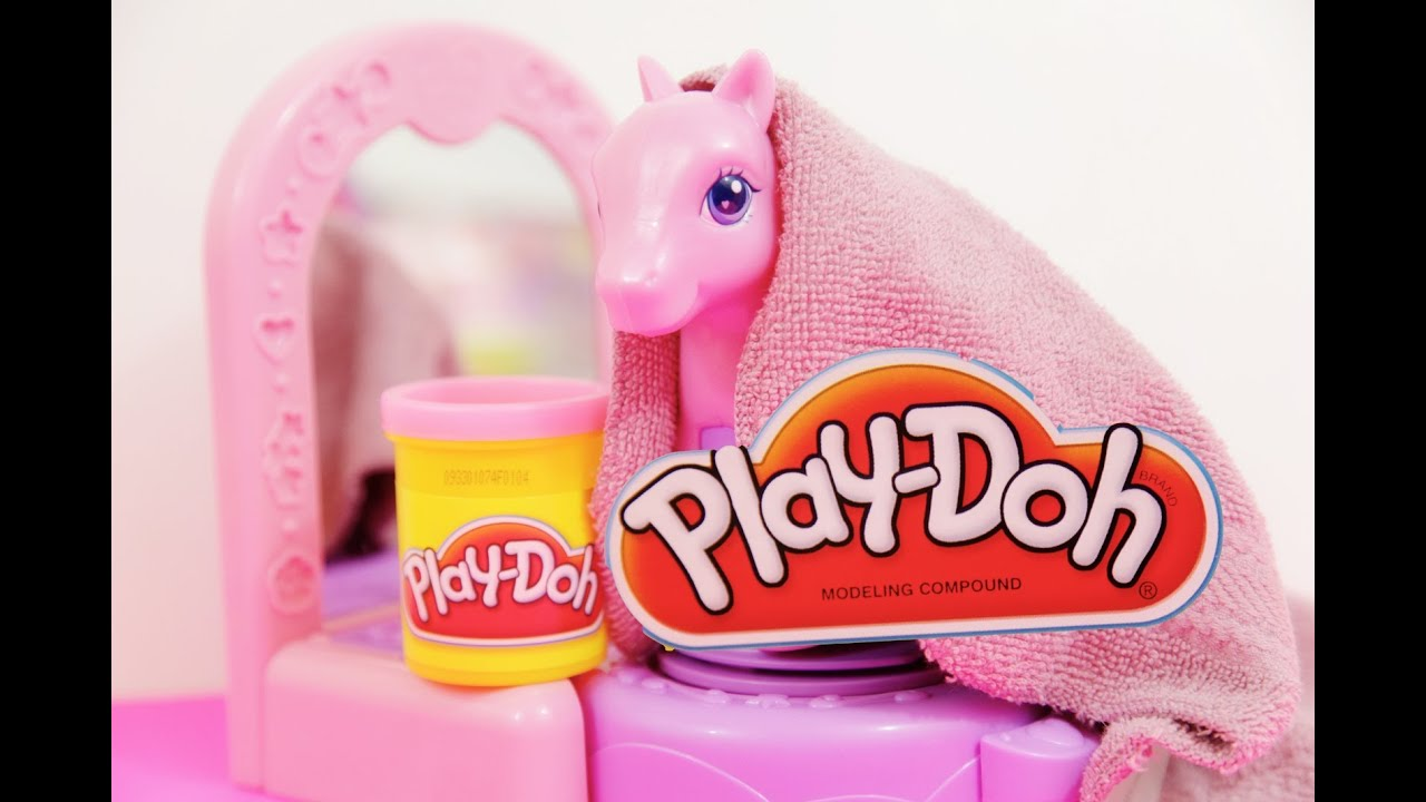 Play Doh My Little Pony Pinkie Pie Pretty Parlor New Hair Style