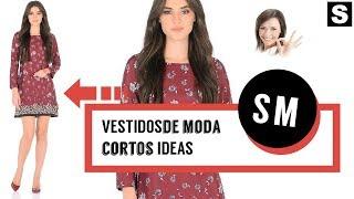 Vestidos de Moda Cortos 👗¡20 Modelos MARAVILLOSOS!