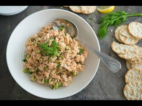 Salmon Salad Recipe My Favorite Picnic Food!